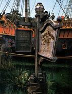 Captain Hook's Galley Signage Disneyland