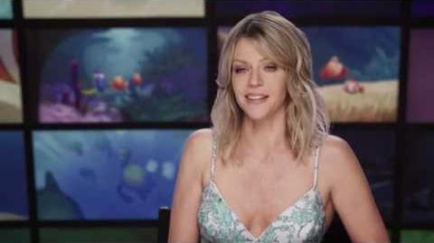 "Finding Dory ""Destiny"" Kaitlin Olson Behind The Scenes Interview"