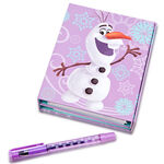 Frozen 2014 Tri-Fold Journal