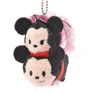 Halloween Minnie and Mickey Tsum Tsum Keychain