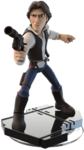 Han Solo Disney INFINIY Figure