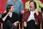 Jim Carrey Michael Angarano at Winter TCA tour