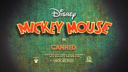 Mickey Mouse 402 Canned