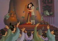 Mulan and Shang married
