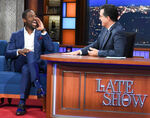 Sterling K. Brown visits Stephen Colbert