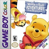 Winnie the Pooh Adventures in the Hundred Acre Wood Cover