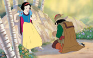 Disney Princess Snow White's Story Illustraition 4