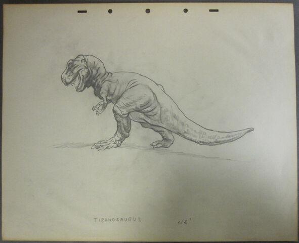 File:Drawing of T-rex 8.jpg