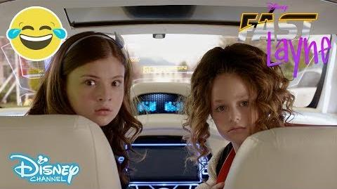 Fast Layne SNEAK PEEK A Talking Car?! 😱 Disney Channel UK
