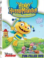 Henry Hugglemonster Meet the Hugglemonsters DVD
