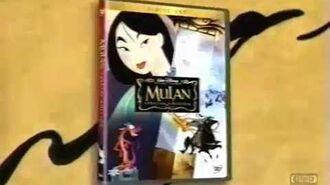 Mulan on DVD Television Commercial 2004