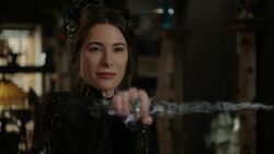 Once Upon a Time - 6x17 - Awake - Black Fairy Magicking Dagger