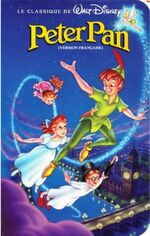 Peter Pan 1990 French Canadian VHS