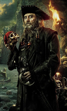 Pirate Captain Blackbeard
