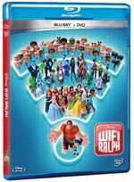 Ralph Breaks the Internet Blu-ray and DVD Mexico
