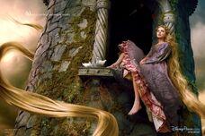 Taylor-swift-rapunzel-disney-parks-dreams-portrait-series