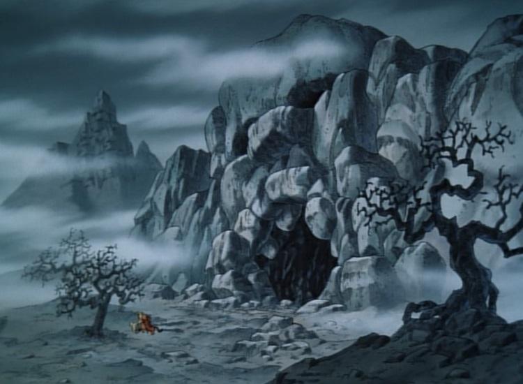 skull cave  winnie the pooh