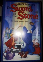 The Sword in the Stone 1980s AUS VHS