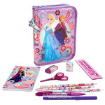Anna and Elsa 2014 Zip-Up Stationary Kit