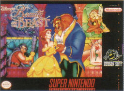 Beauty and Beast SNES game