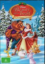 Beauty and the Beast The Enchanted Christmas 2015 AUS DVD