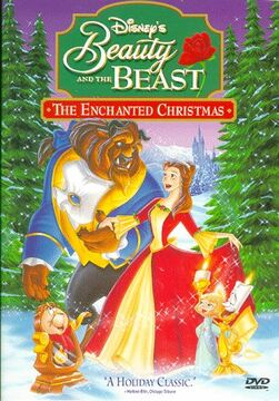 Beauty and the Beast The Enchanted Christmas DVD