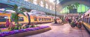 Central station transit