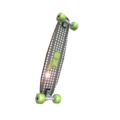 Digital Green Skateboard