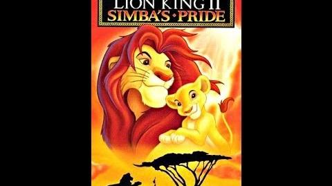 Digitized opening to The Lion King II Simba's Pride (UK VHS)