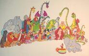 Dumbo's Circus Land Concept Art (7)