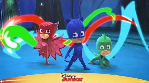 Hvem er Pyjamasheltene? - Disney Junior Danmark