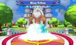 King Triton Disney Magic Kingdoms Welcome Screen