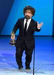 Peter Dinklage speaks at Emmys