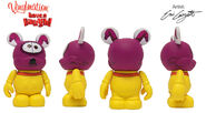 Pluto's sweater vinylmation