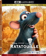 Ratatouille 4KUHD Blu-ray