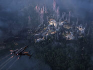 Star Wars Land 2016 Concept Art