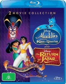 Aladdin and the King of Thieves + The Return Of Jafar 2015 AUS Blu Ray