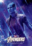 Avengers Endgame Russian poster - Nebula