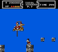 DuckTales NES Scrooge with Launchpad