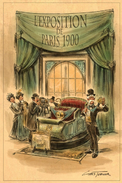 MM - The Mystic Magneto-Electric Carriage (Revealed at 1900 Paris Exposition)