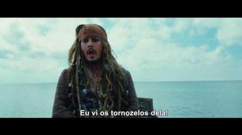 Piratas do Caribe A Vingança de Salazar - Trailer