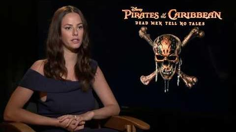 Pirates of the Caribbean 5 Interview - Kaya Scodelario