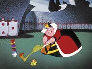 Queen of Hearts croquet clipart