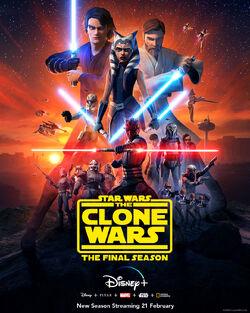 Star Wars The Clone Wars final season poster