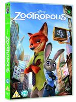 Zootropolis UK DVD 2016