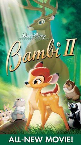 File:BAMBI II VHS.JPG