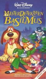 Basil the Great Mouse Detective 1995 Sweden VHS