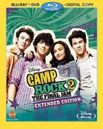 Camp Rock 2 Blu-Ray Combo