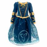 Disney Store Brave Princess Merida Costume Dress Girls