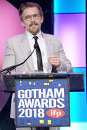 Ethan Hawke speaks at Gotham Awards